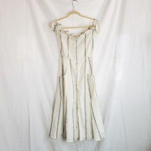 Reformation Linen Dress sz 2